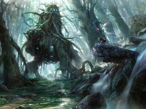 themes in the river god god of the forest by noah kh on deviantart