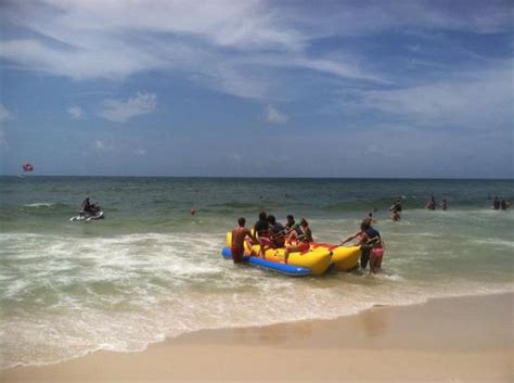 banana boat ride orange beach alabama how about a banana boat ride picture of perdido key