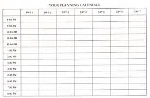 Schedule Grid Template by High School Dropouts Do Get