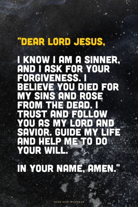 25 best ideas about sinners prayer on
