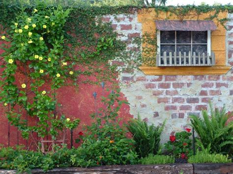 Brick Wall Garden Designs Decorating Ideas Design Wall Garden Design