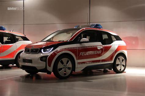 Bmw I3 Forum Bmw I3 Emergency Vehicles Displayed At The Bmw Welt