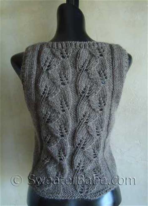 knitting pattern waistcoat easy knit waistcoat patterns free knitting and crochet