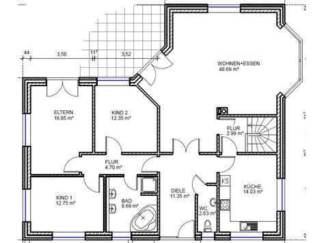 Grundrisse Bungalow 130 Qm by Bungalow Mit 252 Ber 130 Qm Grundriss Und Platz F 252 R 2