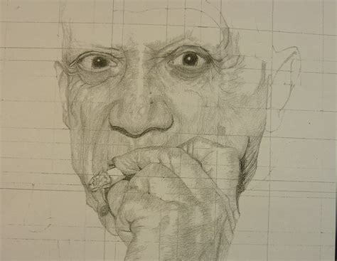 Drawing 8 Year by Picasso Pencil Drawing Year 8 Cranleigh Preparatory