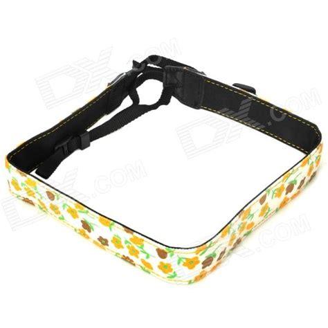 Single Shoulder Belt For Slr Dslr Yellow adjustable canvas fabric neck shoulder sling for dslr slr white yellow