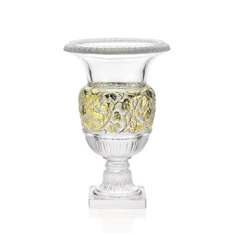 A L From A Vase by Vase Versailles Cristal Incolore Tonn 233 Or Vase