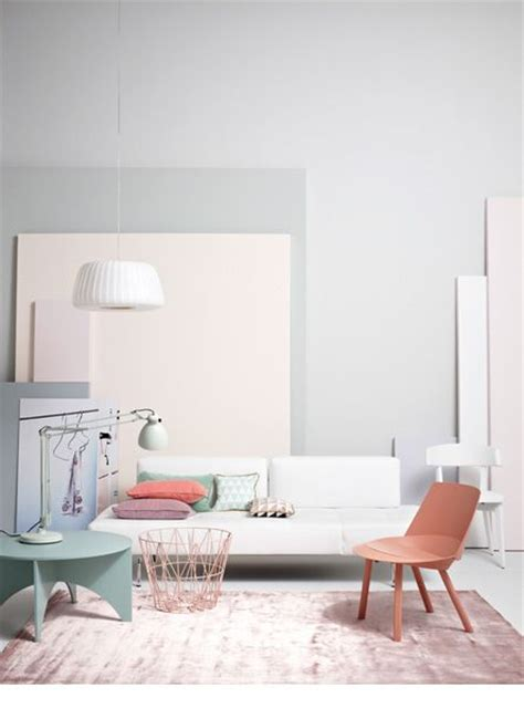 Pastel Living Room Colors by Wire Basket Pink Ferm Living Ferm Living