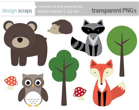 free animal clipart free forest animal cliparts free clip free