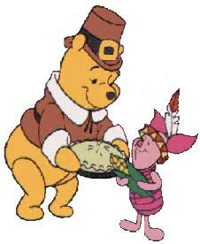 winnie the pooh thanksgiving pictures pooh thanksgiving clipart clipart suggest