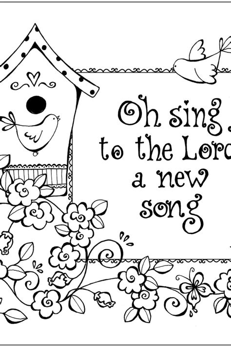 Free Bible Verses With Coloring Pages Free Bible Colouring Pages