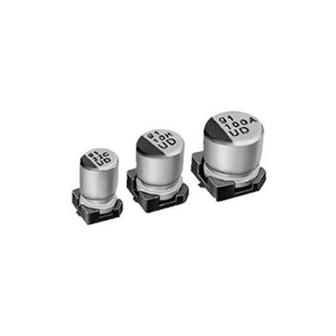 aluminium capacitor smd aluminium electrolytic capacitor 47uf 50v smd 8x10mm 500pcs reel nichicon digiware store