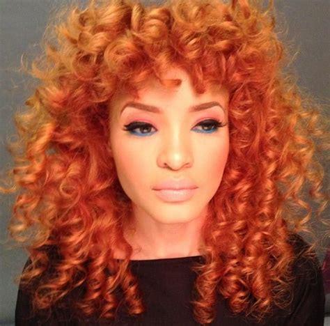 orange hair color orange hair color curly hair all things hair