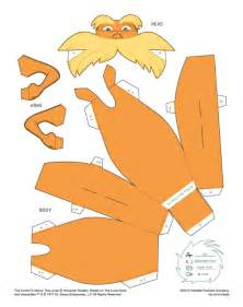 Lorax Template by Search Results For Lorax Templates Calendar 2015