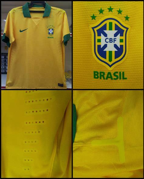 Kaos Jersey Timnas Brasil World Cup 2010 player issue jersey jersi koleksi