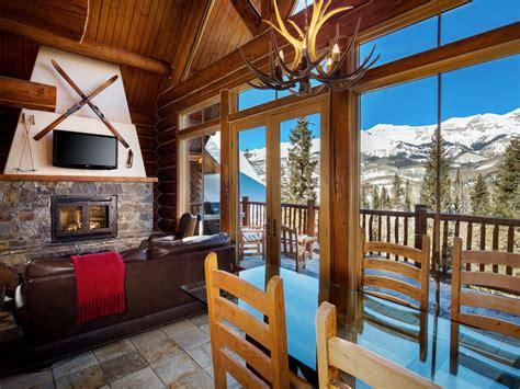 private luxury log cabins   ultimate telluride