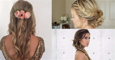 Wedding Hairstyles For A Bridesmaid by 24 Beautiful Bridesmaid Hairstyles For Any Wedding The