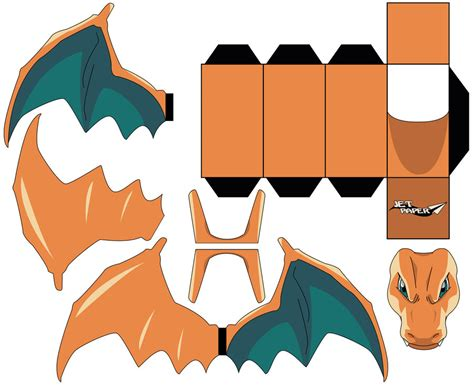 Charizard Papercraft - cubeecraft images images