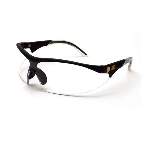 caterpillar safety glasses digger clear lens with