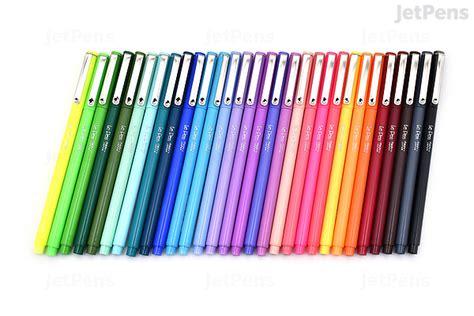 color marker pens marvy le pen marker pen point 30 color bundle