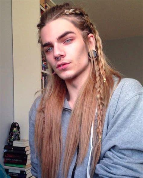 model for chico blonde 17 mejores ideas sobre trenzas hombre en pinterest