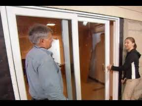 How To Install A Sliding Patio Door How To Install A Sliding Glass Door This House