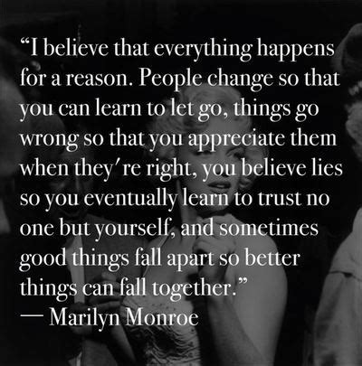 I Believe Essays Everything Happens For A Reason by Quotes I Believe That Everything Happens For A Reason Celebratequotes