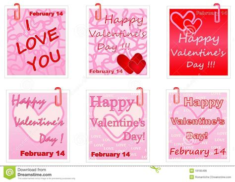 valentines day note valentines day notes royalty free stock image image