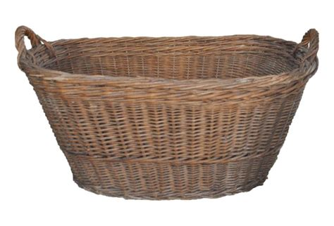 Laundry Basket extra large wicker clothes hamper home and space decor