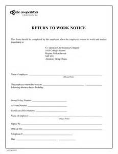 return to work template search results for return to work excuse template