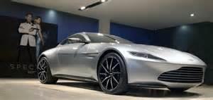 Aston Martin Bond Spectre In Real 007 S Aston Martin Db10 Left