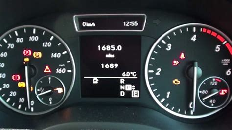 mercedes dashboard lights not working mercedes b class dashboard dash lights