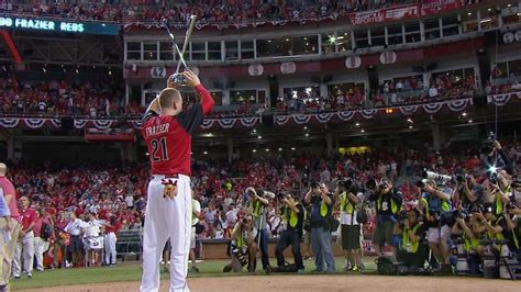 frazier thrills hometown fans wins 2015 hr derby