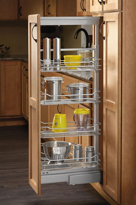 4 quot pull out pantry chrome 5773 04 cr rev a shelf