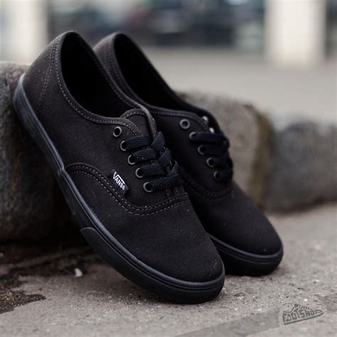 vans authentic lo pro 2121 vans authentic lo pro black black footshop