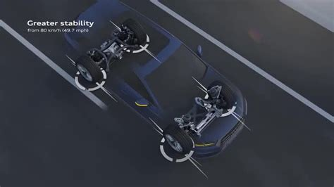 Audi Q7 Four Wheel Steering by Chassis Audi Technology Portal
