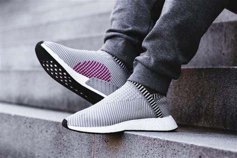 Sepatu Olahraga Sepatu Adidas Nmd Cs2 City Sock 1 preview adidas nmd city sock 2 grey black le site de