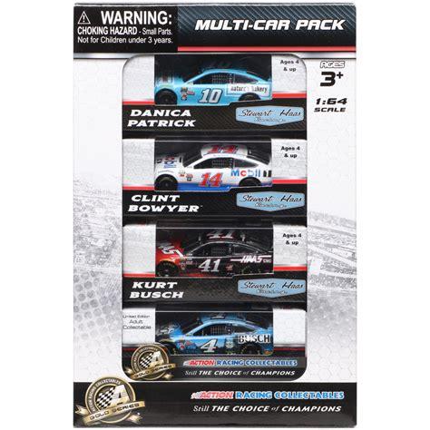 Promo Diecast Metal Complete Set 1 64 stewart haas racing racing 1 64 die cast car bundle nascar shop