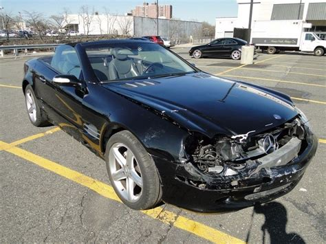 Mercedes 2004 For Sale by 2004 Mercedes Sl500 Convertible Repairable For Sale