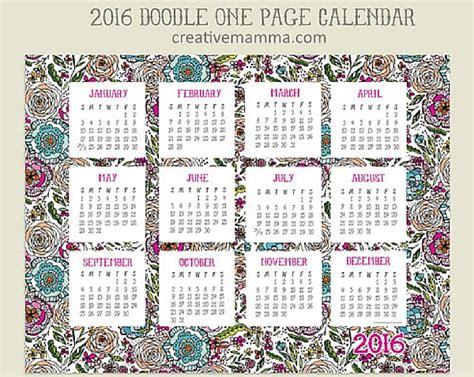 Calendarios Para Imprimir 2017 Por Meses 5 Calendarios 2016 Para Imprimir Gratis