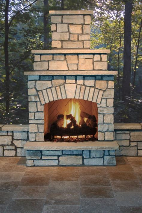 36 quot firerock fire place kit fireplaces