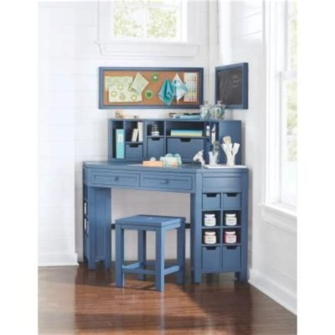 Martha Stewart Corner Desk Martha Stewart Living Craft Space 58 In W 16 Cubby Wood