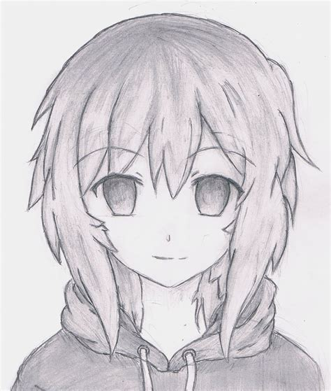 anime drawings drawing myself anime style by regexx on deviantart