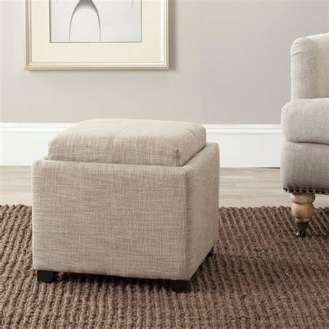 Ottomans Home Collection by Home Decorators Collection Textured Storage