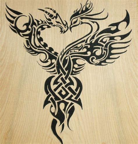 phoenix tattoo represents phoenix and dragon phoenix represents beauty good luck