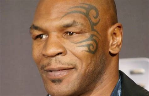 mike tyson face tattoo mike tyson s 5 tattoos their meanings guru