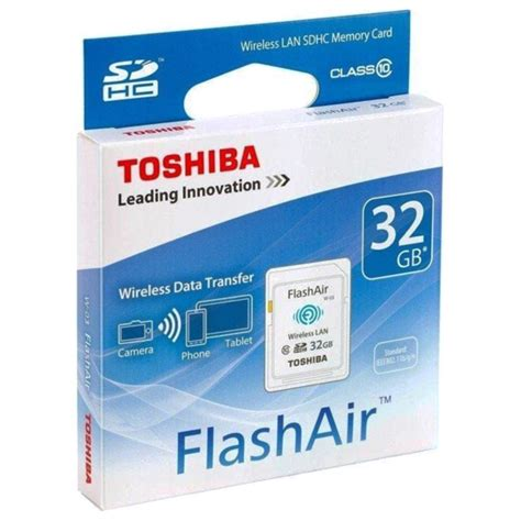 Memory Card Flash Air toshiba flashair w 03 tr 229 dl 248 st sdhc hukommelseskort sd