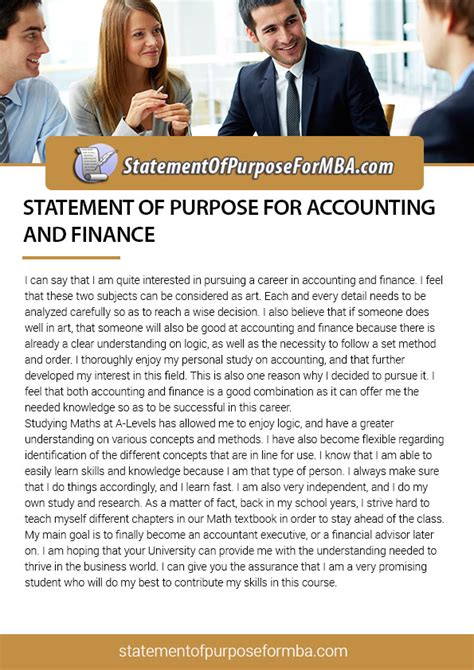 Statement Of Purpose For Mba Accounting a list of outstanding dissertation topics on contract