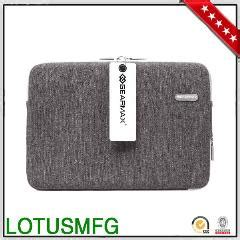 Gearmax Sleeve Bag For Macbook 11 13inch Grey gearmax fashion felt notebook laptop for dell