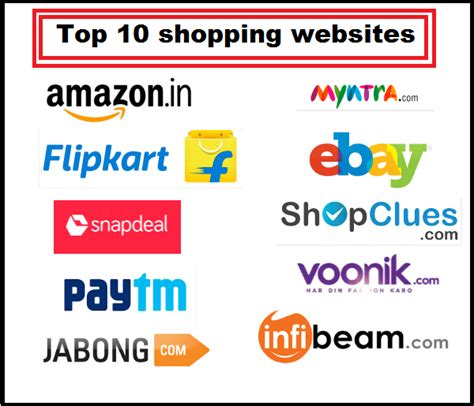 amazon top 10 top 10 shopping websites in india top zenith